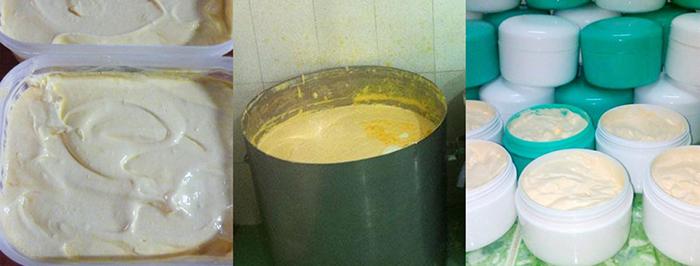 thành phần kem trộn