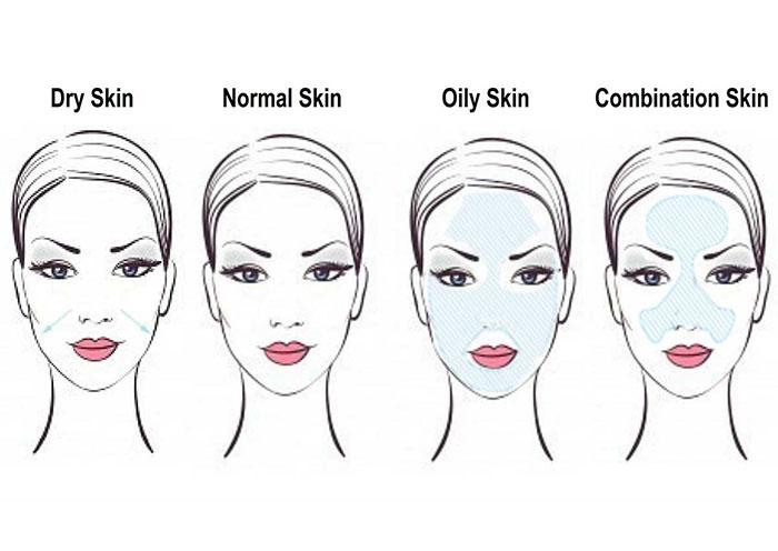 Xác định kiểu da để lựa chọn mỹ phẩm phù hợp.
