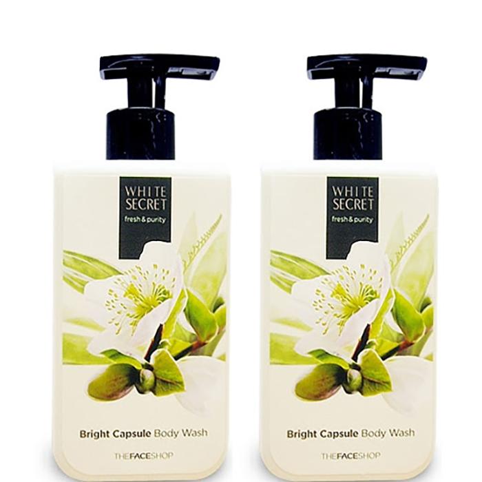 Sữa tắm The Face Shop White Secret Bright Capsule Body Wash