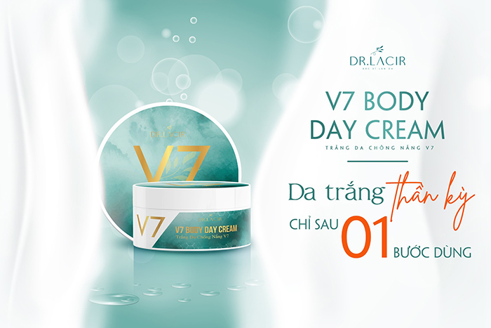Kem V7 BODY DAY CREAM.