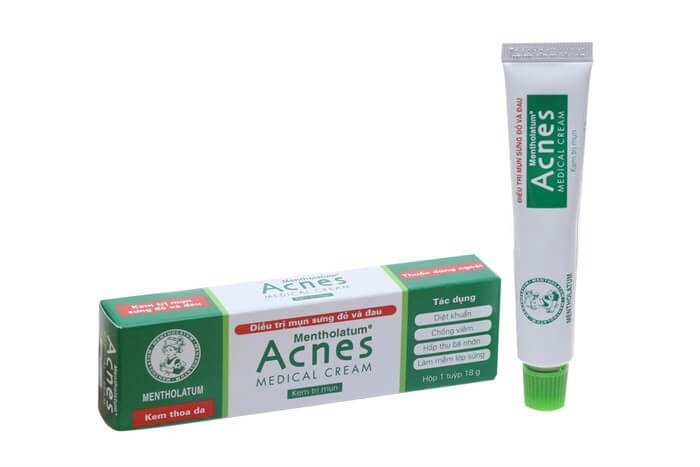Sản phẩm kem dưỡng trị mụn Acnes Medical Cream