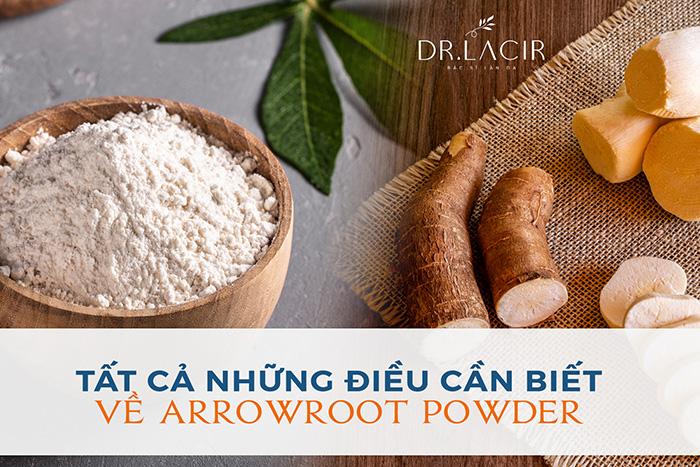 arrowroot powder là gì