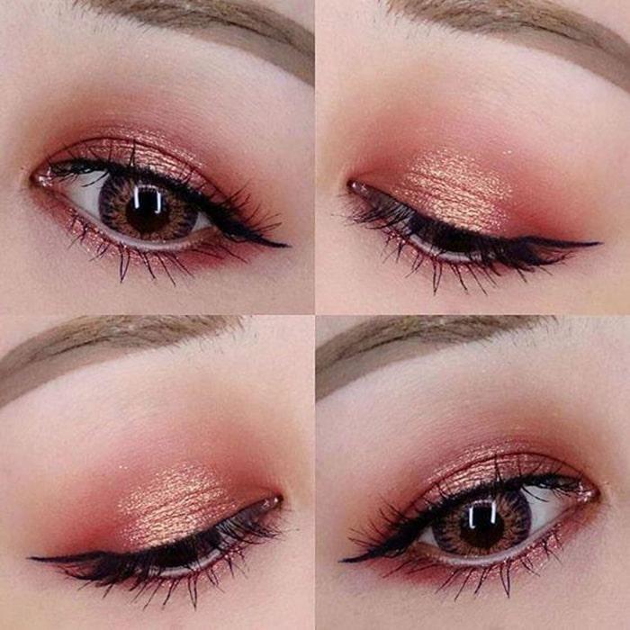 màu mắt phong cách sang chảnh