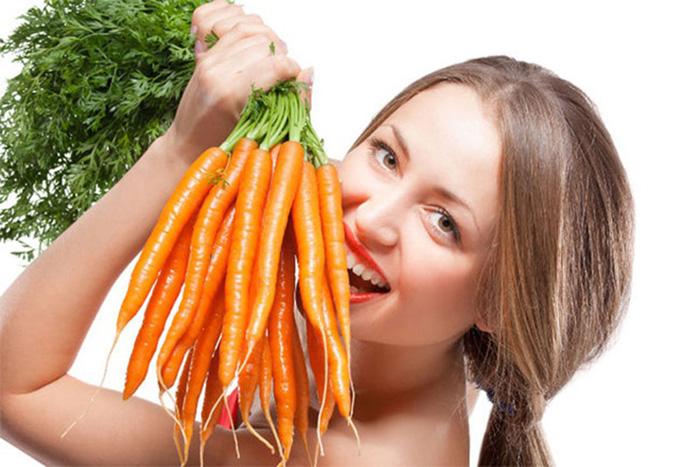 công dụng làm đẹp mặt nạ cà rốt