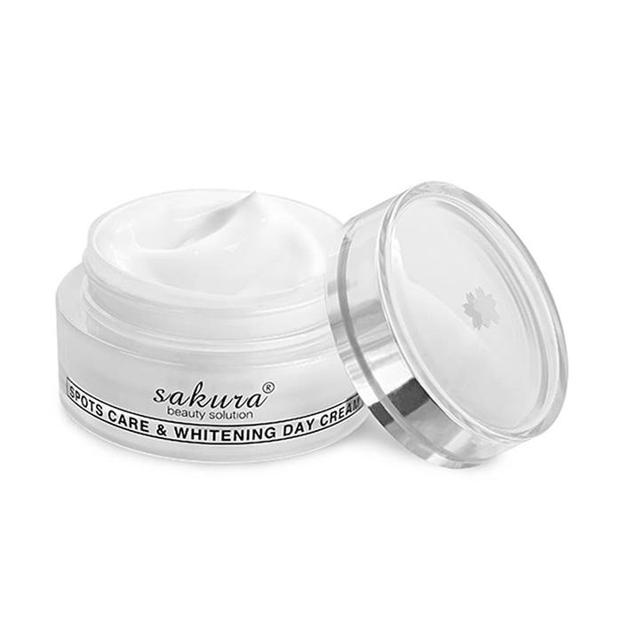 Kem dưỡng trắng da Sakura Spots Care & Whitening day Cream