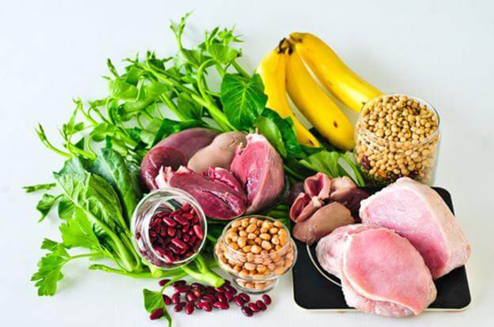 bổ sung rau xanh và dưỡng chất cho cơ thể