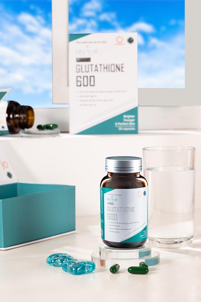 viên uống glutathione 600 giá bao nhiêu